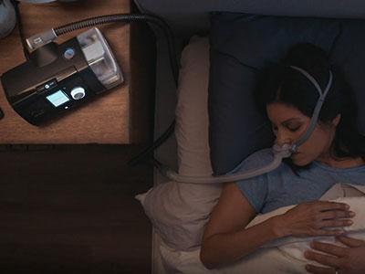 Laitteiston osan vaihtaminen - CPAP-hoito - ResMed